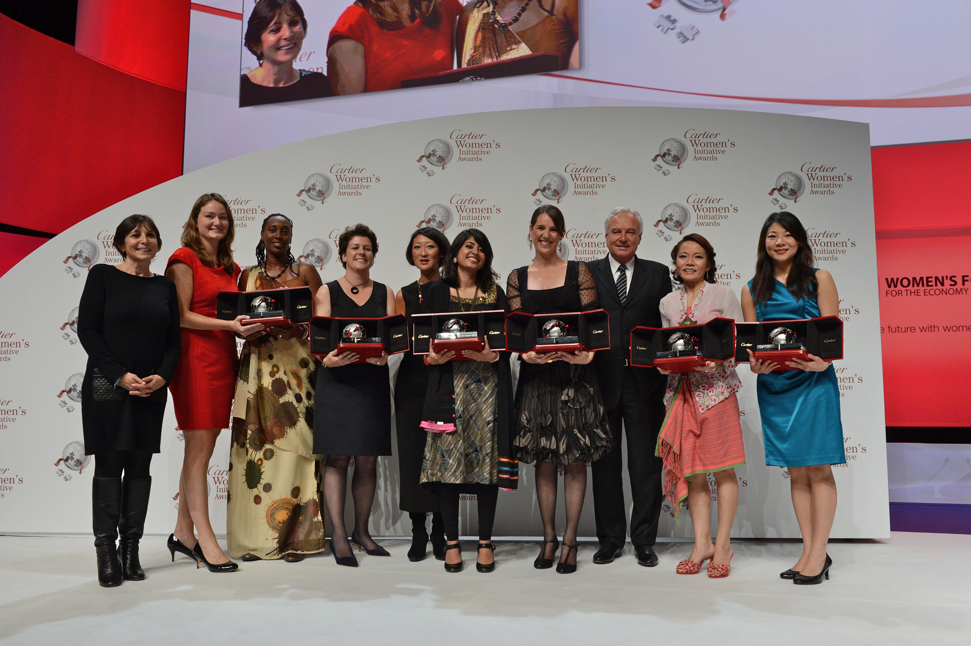 Cartier Women's Initiative Awards Laureates 2012
