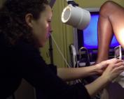 Mobile phone cervical cancer screening